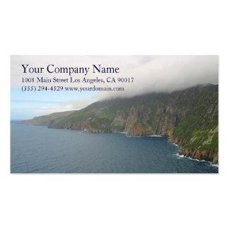 Ocean Sea Waves Rocky Coast Shore Shoreline Cliffs Business Cards