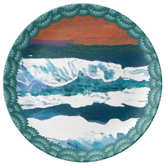 Ocean Seascape Paintings Collectors' Plates Beach