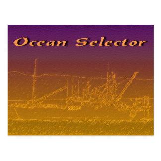 Ocean Selector Postcard