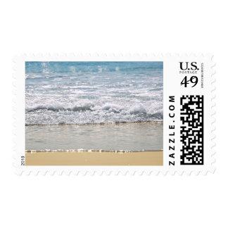 Ocean shore stamp