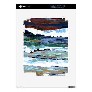 Ocean iPad 2 Decal