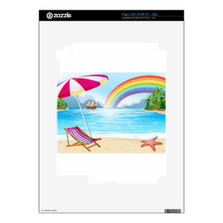 Ocean Skin For iPad 2