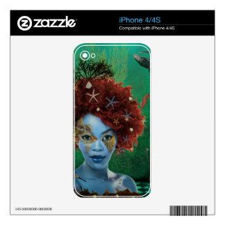 Ocean Skin For iPhone 4