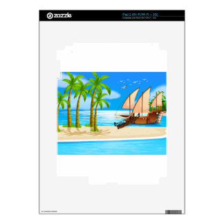 Ocean Skin For The iPad 2