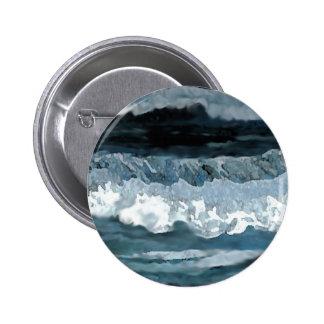 Ocean Sonata - CricketDiane Ocean Art 2 Inch Round Button