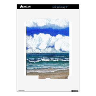 Ocean Sonata Sea Beach Summertime Art iPad 2 Decals
