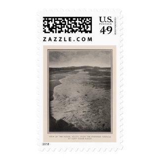 Ocean south from Cliff House Rocks Stamp
