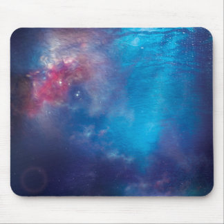 Ocean Space Mouse Pad