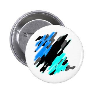 Ocean Splash 2 Inch Round Button