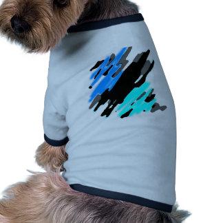 Ocean Splash Dog T-shirt