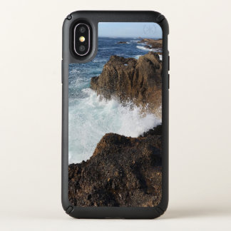 ocean splash speck iPhone x case