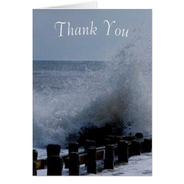 Beach Themed Ocean Splash Thank You Notes