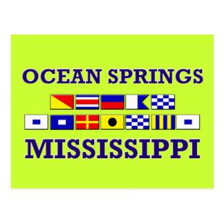 Ocean Springs Postcard