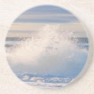 Ocean Spume Sandstone Coaster