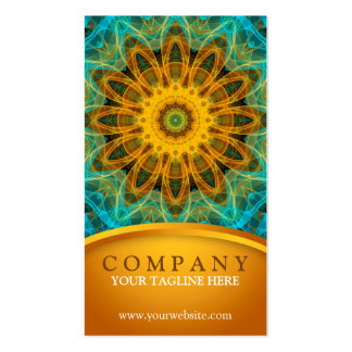 Ocean Star Mandala 2 Double-Sided Standard Business Cards (Pack Of 100)