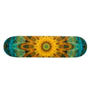 Ocean Star Mandala Skateboard Deck