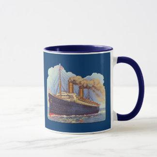 Ocean Steam Liner Ship Mug