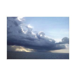 Ocean Storm Front Gallery Wrap Canvas