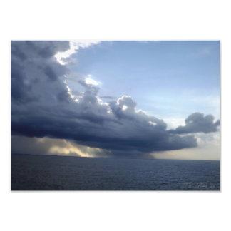 Ocean Storm Front Photo Print
