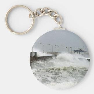 Ocean Storm Keychain