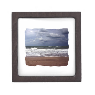 Ocean Storm Photograph From Florida Jewelry Box