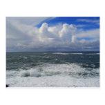 Ocean Storm Postcard