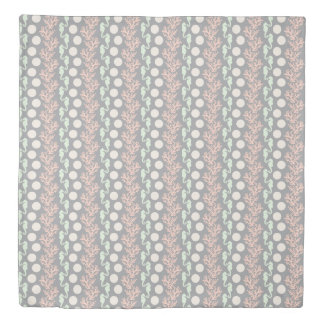 Ocean Stripes Gray Duvet Cover