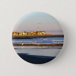 Ocean Stroll Pinback Button