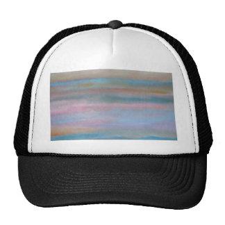 Ocean Summer Breeze Sunset Soft Pastels Trucker Hat