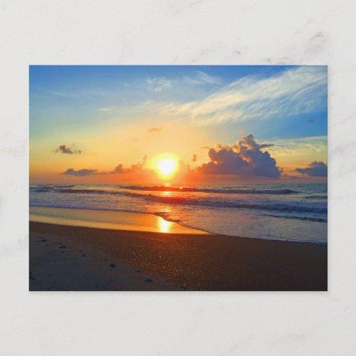 Ocean Sun Postcard