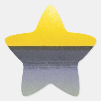 Ocean Sun Seascape Star Sticker