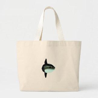 Ocean Sunfish - Mola Mola Large Tote Bag