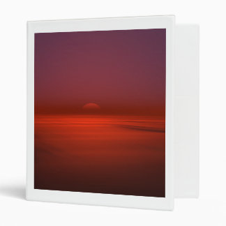 Ocean Sunrise Binder