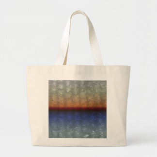 Ocean Sunrise Bubble Wrap Effect Tote Bag
