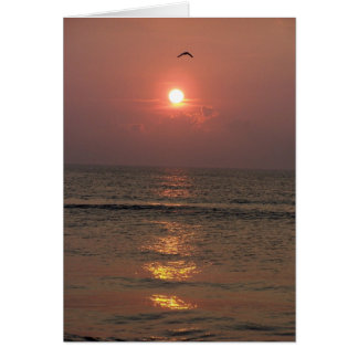 Ocean Sunrise Cards