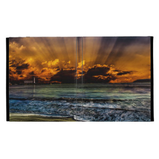 Ocean Sunrise iPad Folio Cases