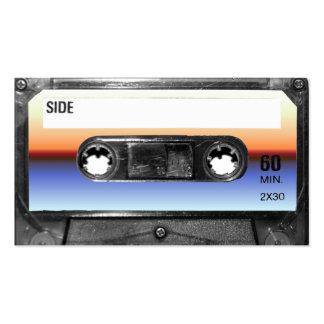 Ocean Sunrise Cassette Business Card