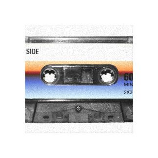 Ocean Sunrise Cassette Canvas Print