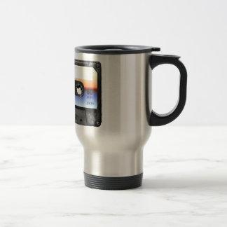 Ocean Sunrise Cassette Travel Mug