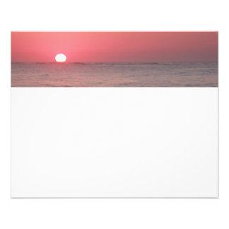 Ocean Sunrise Flyer