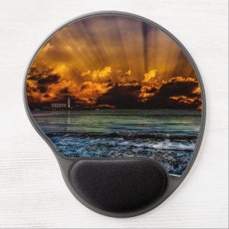 Ocean Sunrise Gel Mouse Pad