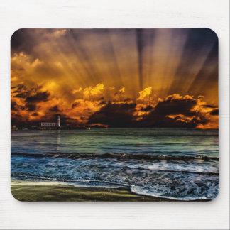 Ocean Sunrise Mouse Pad