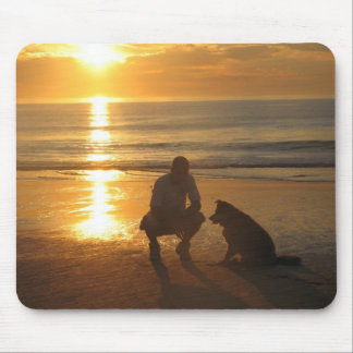Ocean Sunrise Mouse Pad