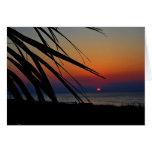 Ocean Sunrise Notecard Card