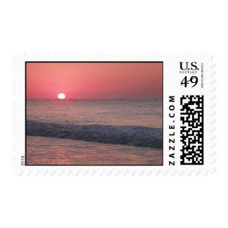 Ocean Sunrise Postage