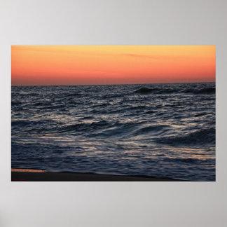Ocean Sunrise Poster #4608