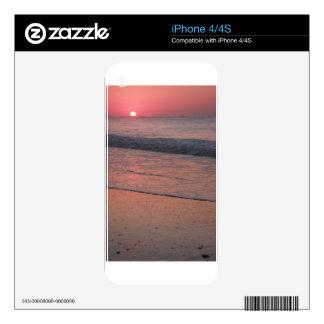Ocean Sunrise Decals For iPhone 4S