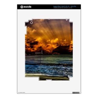 Ocean Sunrise iPad 3 Decals