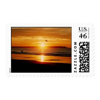 Ocean Sunrise stamp