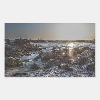 Ocean Sunset 1 Sticker Rectangular Stickers